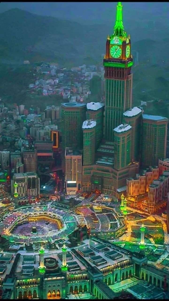 القلب يشتاق اليكى يامكة اللهم ارزقنا جميعا الزيارة قريبا Mecca Wallpaper Mosque Architecture Mecca City