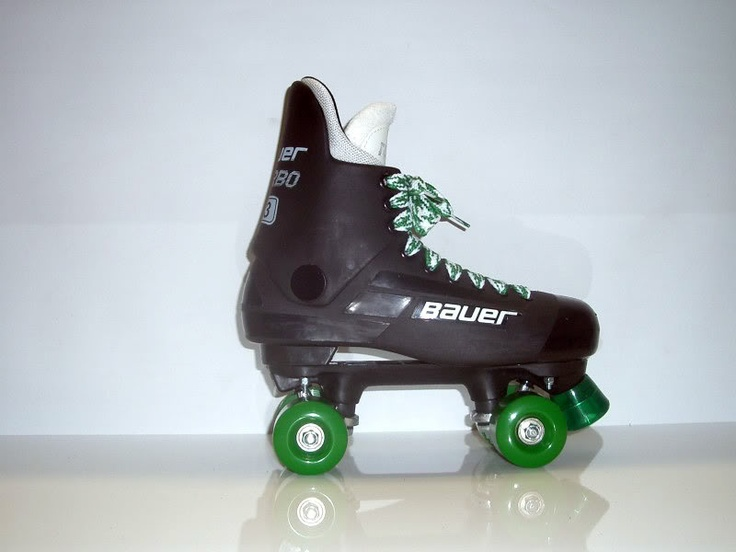 when I started skating, having Bauer's was a massive NO. But these are ace