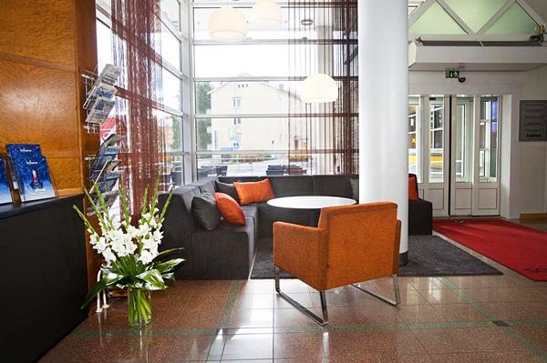 Lobby at Original Sokos Hotel Vaakuna, Rovaniemi, Lapland, Finland