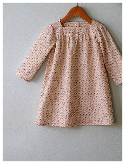 Rose from Citronille patterns. I have the pattern, now if I could just pull this off in time for Easter for the girls. And I think it needs a chicken-feeding apron.