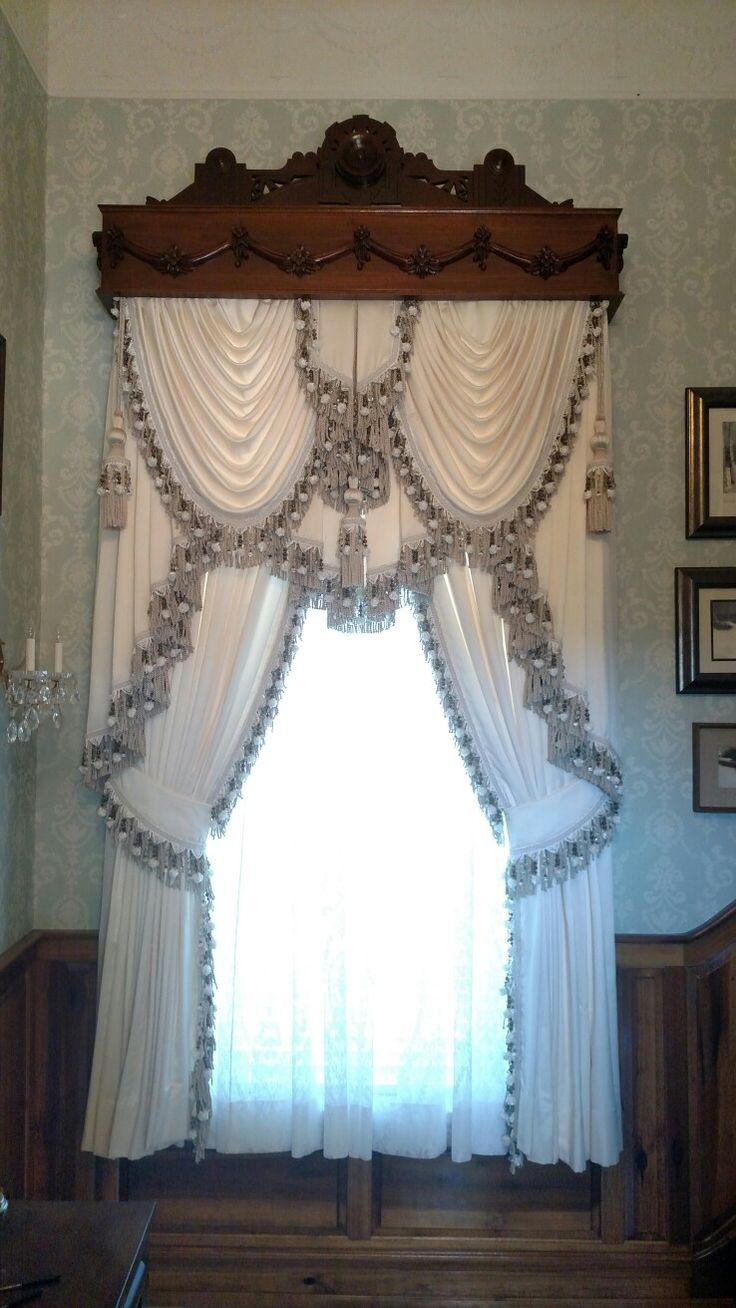 616 Beste Afbeeldingen Over Curtains And Swags Op Pinterest Raambekleding Volant Gordijnen En