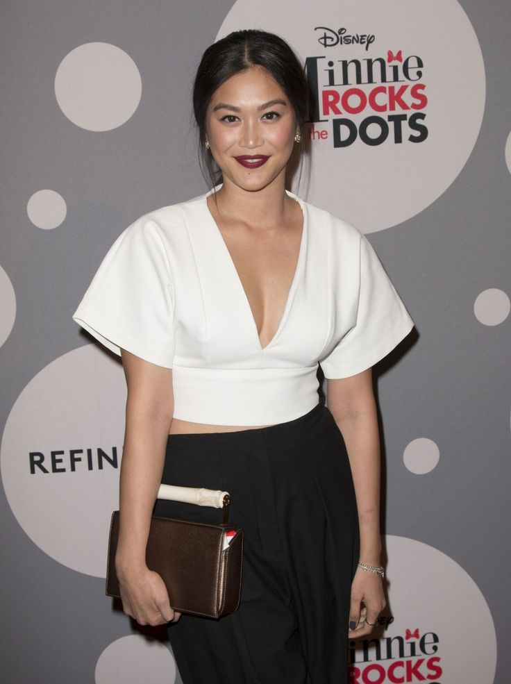 Dianne Doan attends Minnie Rocks the Dots art and fashion exhibit on National Polka Dot Day http://celebs-life.com/dianne-doan-attends-minnie-rocks-dots-art-fashion-exhibit-national-polka-dot-day/  #diannedoan
