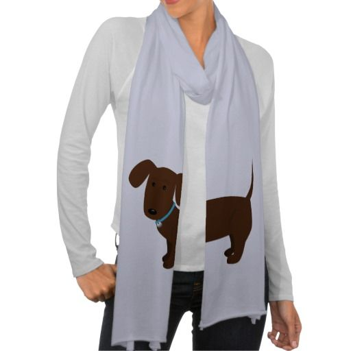 April for your daughter!! Cute Doxy Dog Scarf Wraps