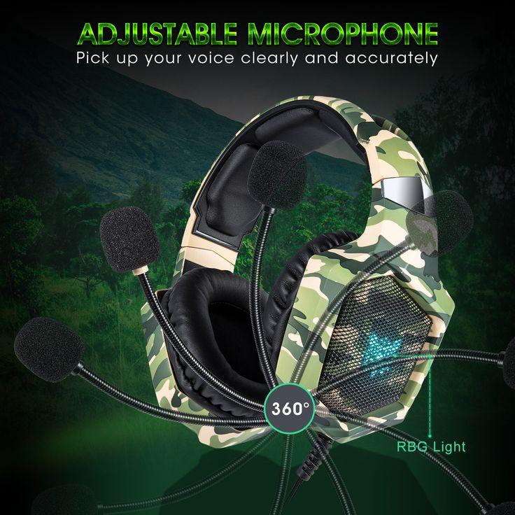 ONIKUMA K8 to confuse chromatic head earphone of mobile