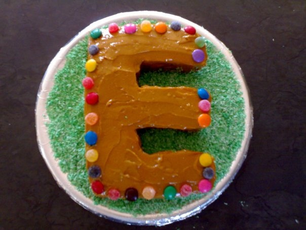 "an ""E"" for an old friend Ernst, when we were still in high school"