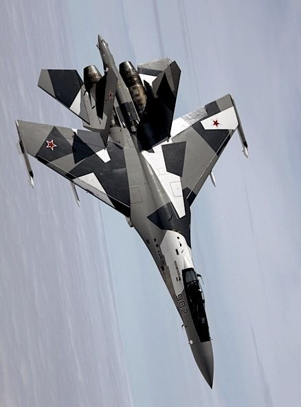 Sukhoi Su-27 in new camo