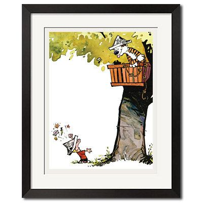 7 best Calvin and Hobbes Poster Prints for Nursery images on ...