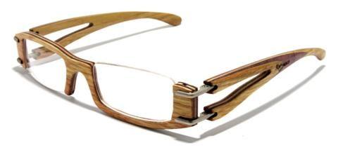 gafas con montura de madera irregular Gafas de madera Maguaco de Colombia