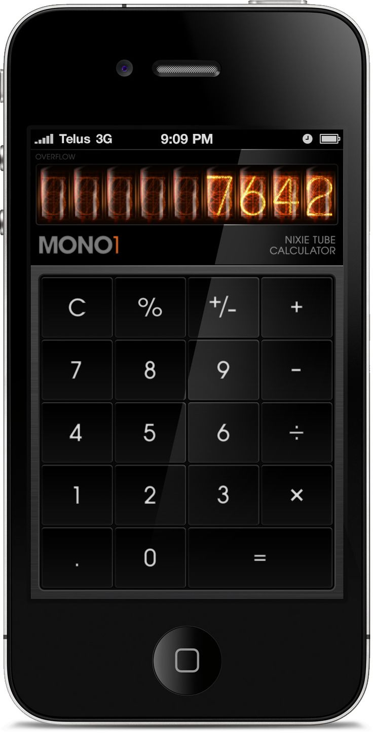 37 best calculators images on pinterest calculator interface love the look of this mono 1 calculator biocorpaavc