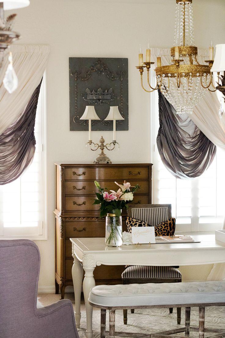 simple elegant home office. 30 tips for fabulous fall decor home tour part 2 simple elegant office