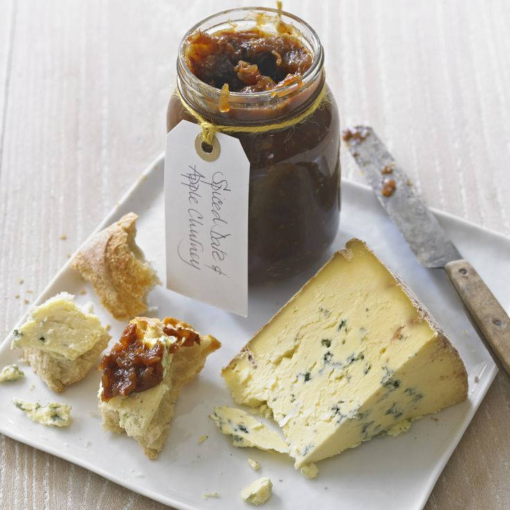 This is a good chutney to make with windfall Bramleys. Leave to mature for a couple of months before eating. Especially good with blue cheese and cold roast pork