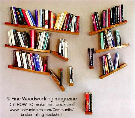 Pin by deanne on all things literary pinterest for Unique shelves diy