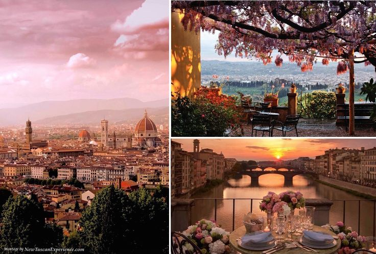 Pink Sunsets in Florence