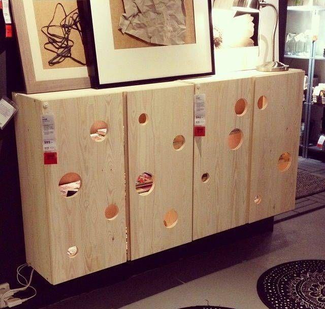 Lovely Cat Box Furniture #8: IKEA Hack Ivar Cabinet