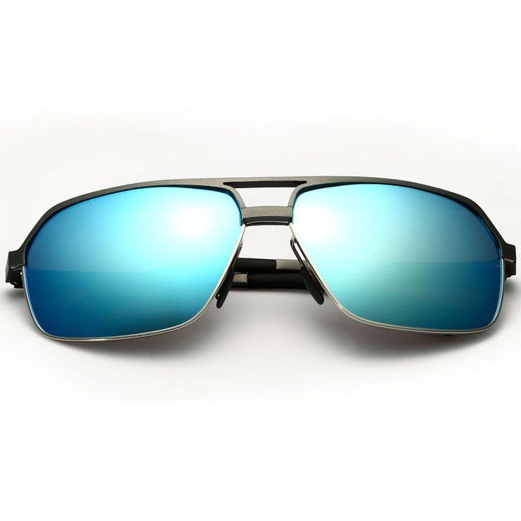 men aviator sunglasses 2017 gothic retro vintage polarized male carter Brand designer sun Goggle glasses Driver Driving Eyewear
