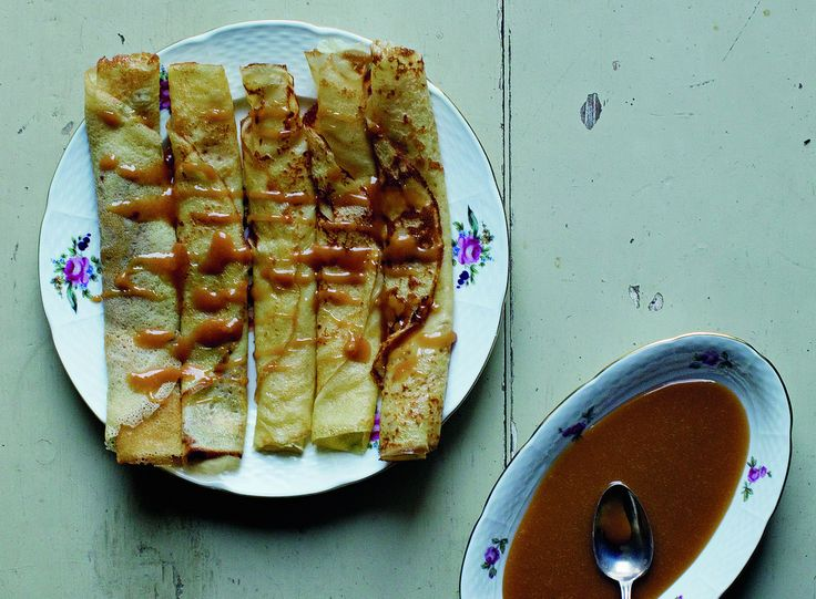... cream caramel sauce recipe yummly pumpkin crepes with caramel sauce