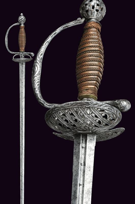An iron small-sword, Italy, ca. 18th century. https://darksword-armory.com/