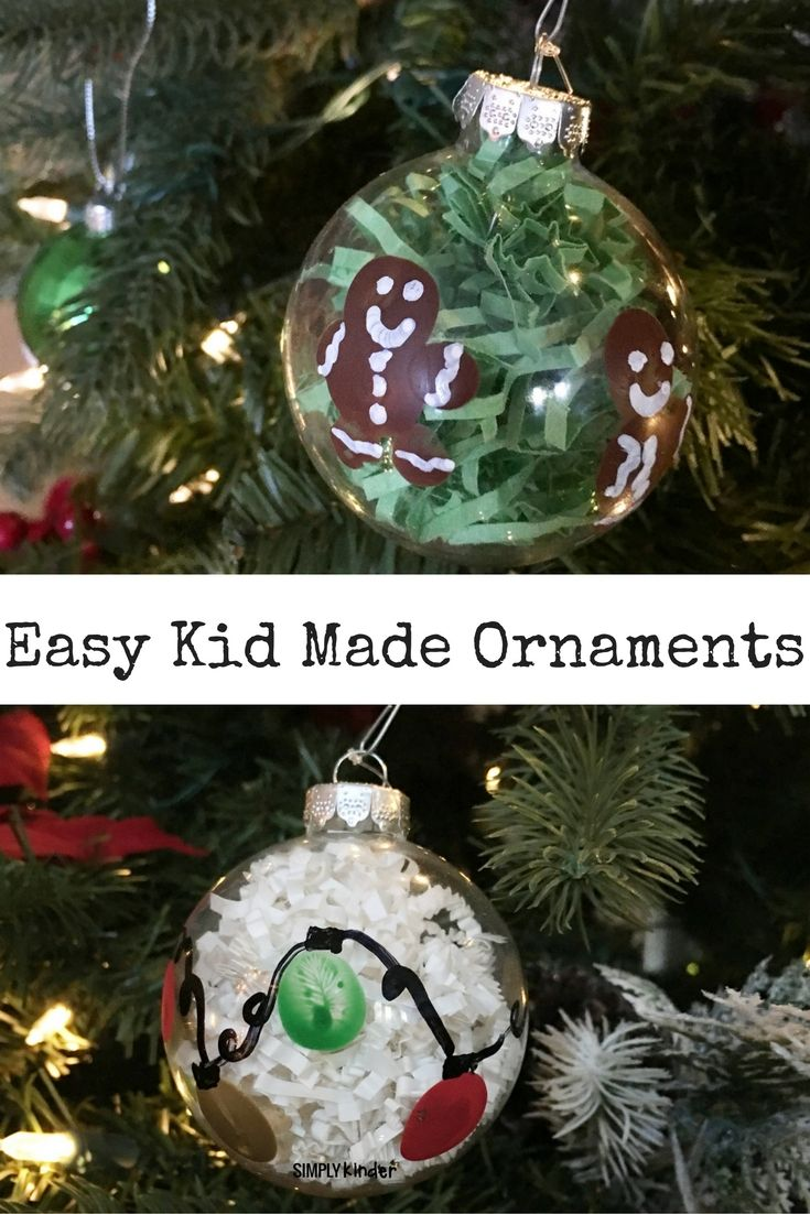 Christmas Ornament Parent Gifts!