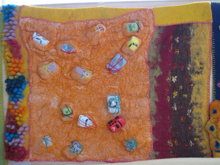 Feel playmat for Toddlers, made by Marjo Lelie