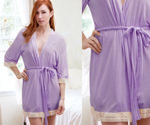 Bridal Robe Lavender