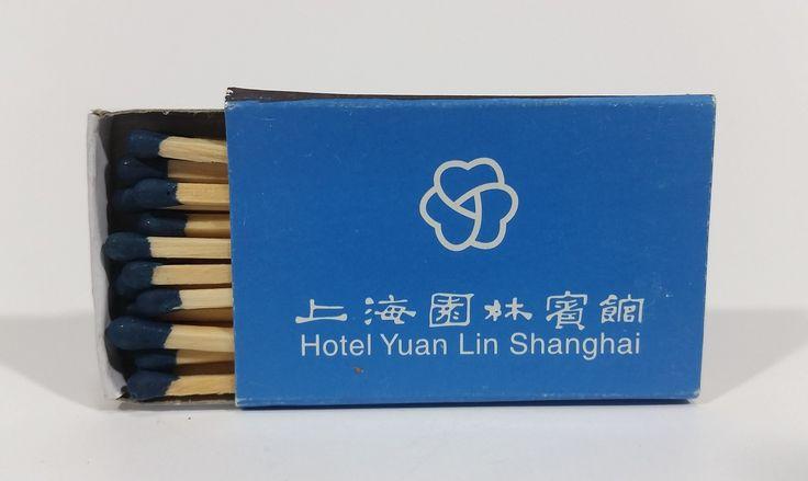 Hotel Yuan Lin Shanghai, China Souvenir Promo Wooden Matches Box - Full https://treasurevalleyantiques.com/products/hotel-yuan-lin-shanghai-china-souvenir-promo-wooden-matches-box-full #Hotels #YuanLin #Shanghai #China #Chinese #Souvenirs #Promo #Promotional #Memorabilia #Travel #Travelling #Tourism #Matches #MatchBoxes #MatchPacks #Tobacciana #Collectibles #Smoking