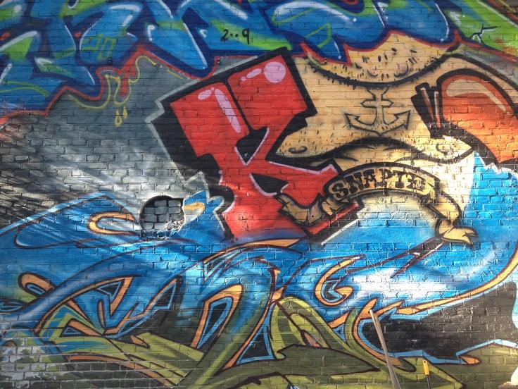 Graffiti in Den Bosch