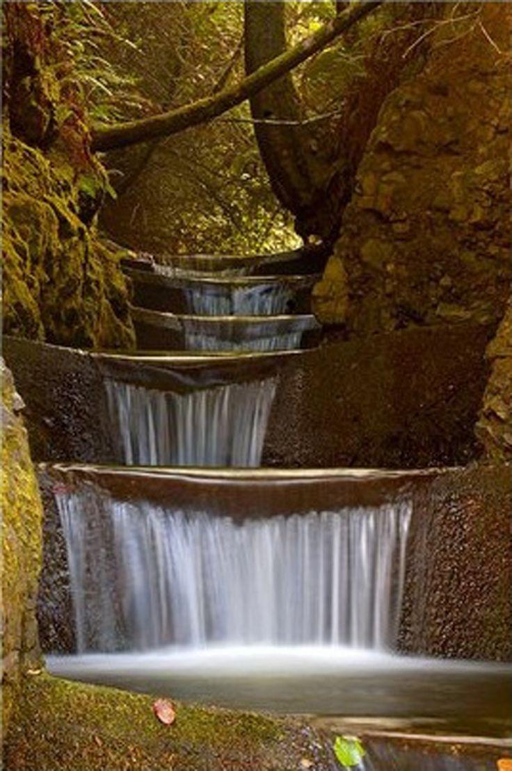 Oregon, Endless Waterfall – Cummins Creek Wilderness