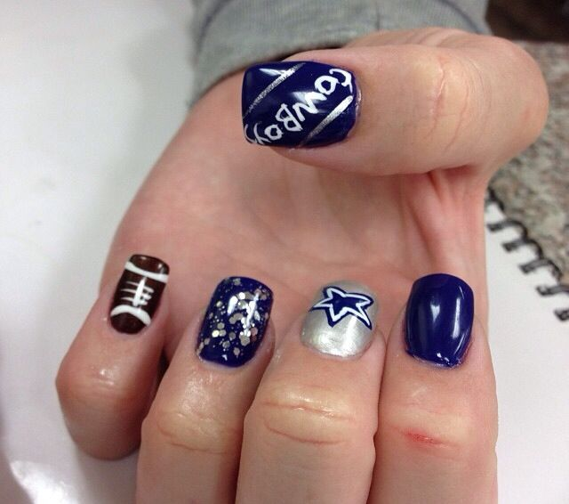Best 25 cowboy nails ideas on pinterest dallas cowboys nails dallas cowboys nails prinsesfo Image collections