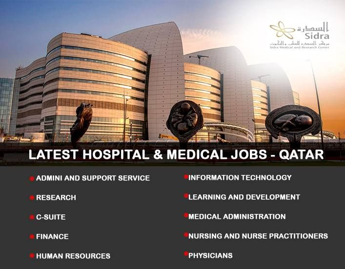 ➡️JOBS IN SIDRA MEDICAL AND RESEARCH CENTER ➡️Attractive