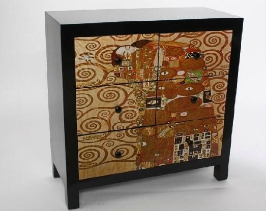 19 besten gustav klimt casa collection bilder auf pinterest gustav klimt kommoden und sonne. Black Bedroom Furniture Sets. Home Design Ideas