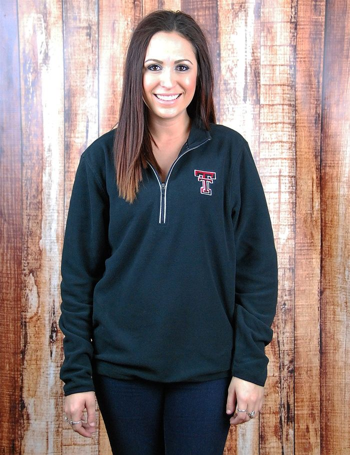 Keep warm and cozy while lookin' sharp in this great fleece Tech jacket! This is perfect for any Texas Tech University Fan! Go Red Raiders!