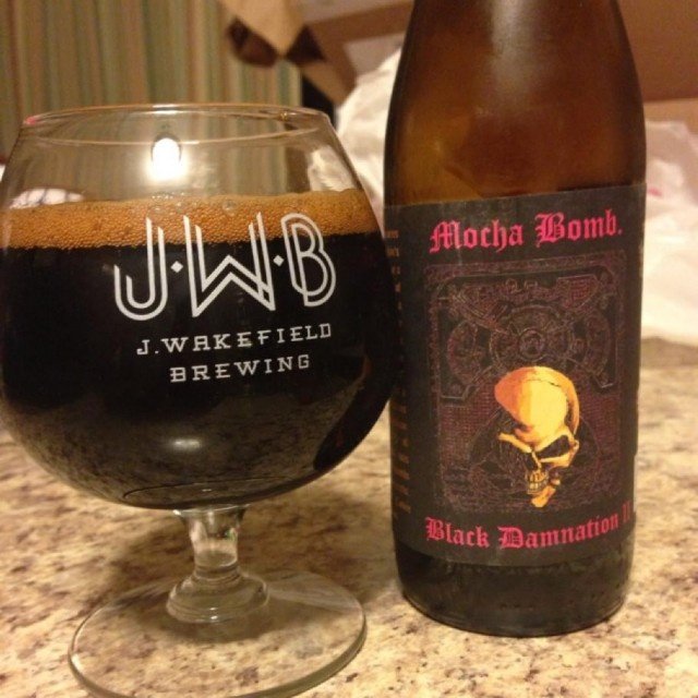 Black Damnation II - Mocha Bomb by De Struise Brouwers