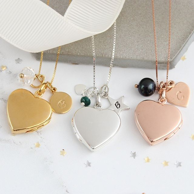 so far so good. keeping up with schedule of taking images and uploading new rose gold and gold vermeil birthstone jewellery. woo hoo here are the heart lockets  #giftsforher #personalisedgifts #personalisedgift #personalizedgifts  #personalizedjewelry #personalizednecklace #rosegoldlocket #goldlockets  #sterlingsilverlockets #personalisedgifts #personalisedgift  #personalizedgifts #personalizednecklace #personalizedjewelry  #personalizedgift #giftsforher #giftsforgirls #giftsforgirlfriends…