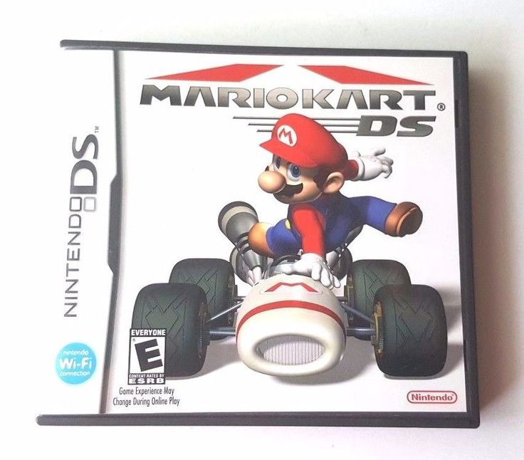 Nintendo DS Dsi Dsl 3DS Complete Game ~ MARIO KART ~ 30 Courses & Fun Missions