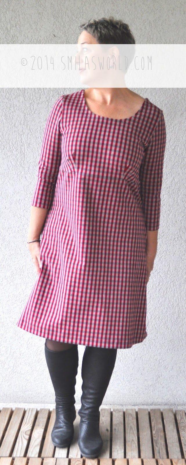 Zum heutigen RUMS Tag zeige ich euch mal wieder ein Kleid. :D Ich habe keine Ahnung vorher ich diesen Rot-Schwarz karierten Stoff habe. Er...