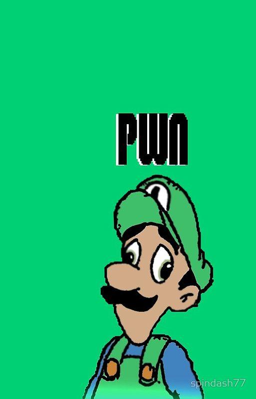 That's Mama Luigi to you Mario! *wheeze* Buy the design on Redbubble! ^-^