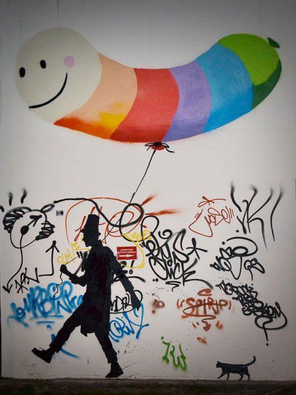 The Street Art of Kenny Random [21 pics]