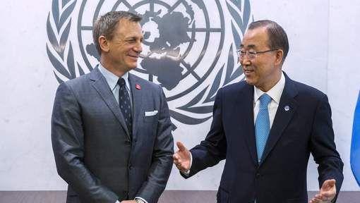 James Bond-acteur Daniel Craig zet zich in als ambassadeur voor de Verenigde Naties, in hun strijd tegen landmijnen…