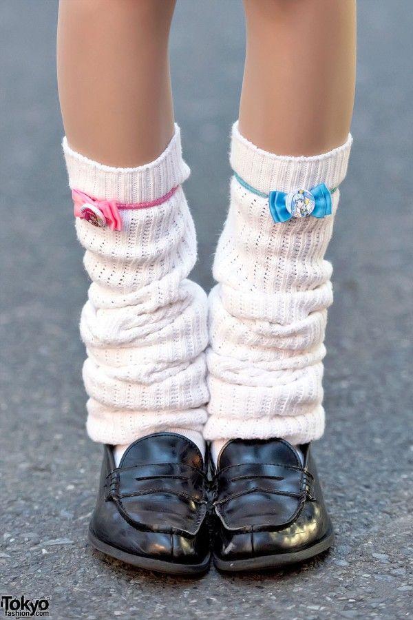 Loose Socks, Loafers & Manga Pins