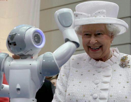 Queen Elizabeth II on State visit to Germany. June 2015