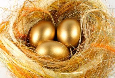 Golden Easter Eggs . . . Fairy Tale Magic:)