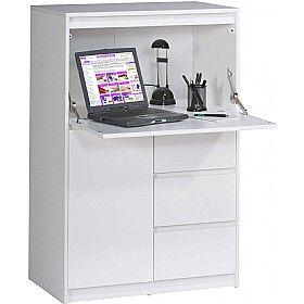 Wonderful Fendi Hidden Home Office Computer Desk £199   Computer Desks