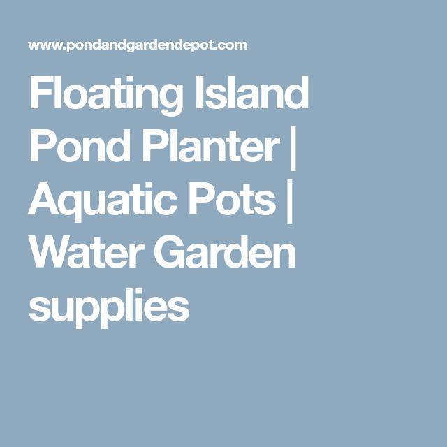 Floating Island Pond Planter | Aquatic Pots | Water Garden supplies