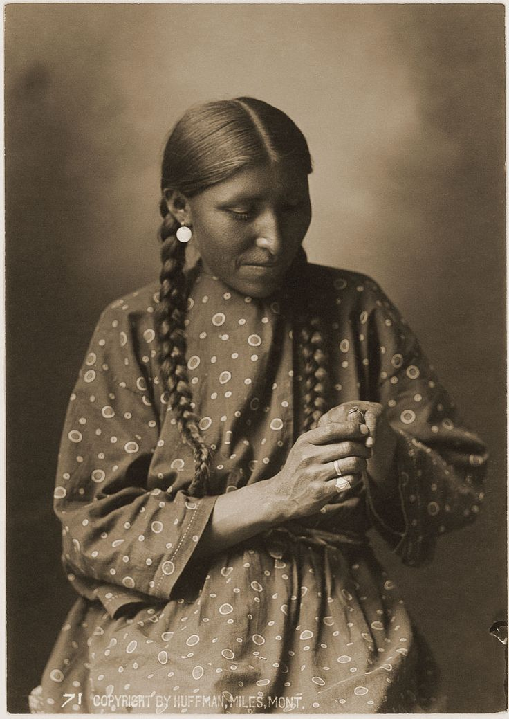 Mrs. White Elk : Douglas Kenyon Collection  This portrait is one of three taken at the same setting. Mrs. White Elk images are recognized as one of the most intimate and personal portraits taken of a Native American in the 19th century.