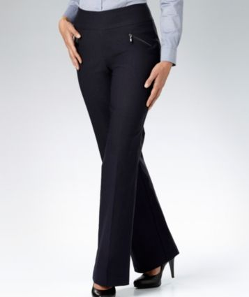 Marks, Janet Exposed Zip Tummy Control Pants, $49.99 on sale $37.99, 14/16