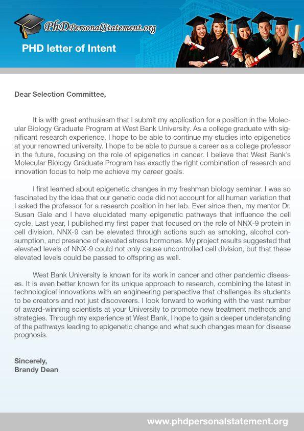 Best 25+ Letter of intent ideas on Pinterest Graduate school - letters of intent