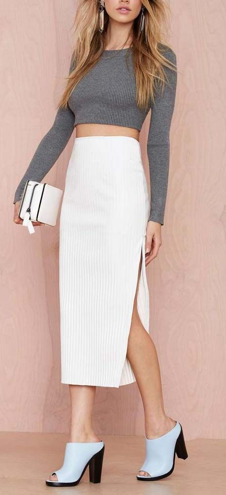Maurie & Eve Gravity Vegan Leather Skirt | Shop Style Detox at Nasty Gal