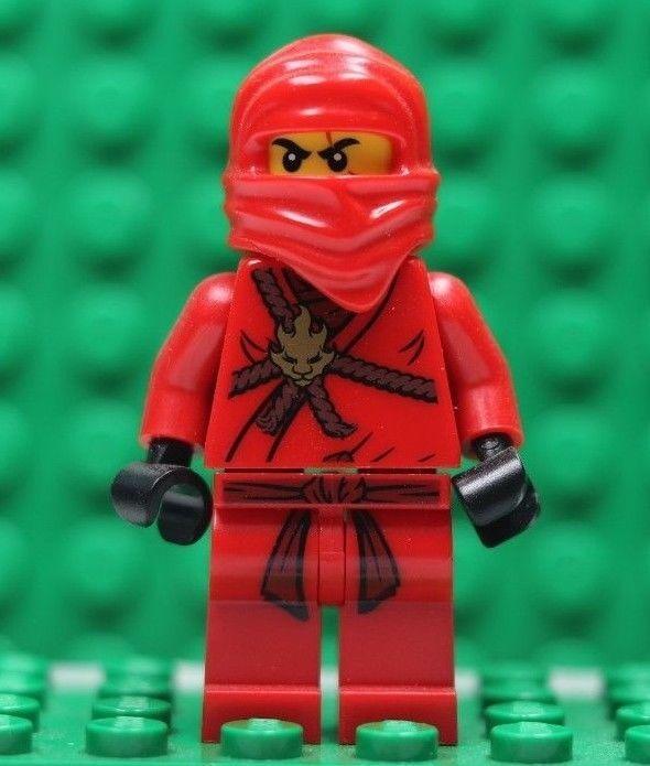 Lego Genuine Ninjago Kai The Golden Weapons 211 2258 Minifig