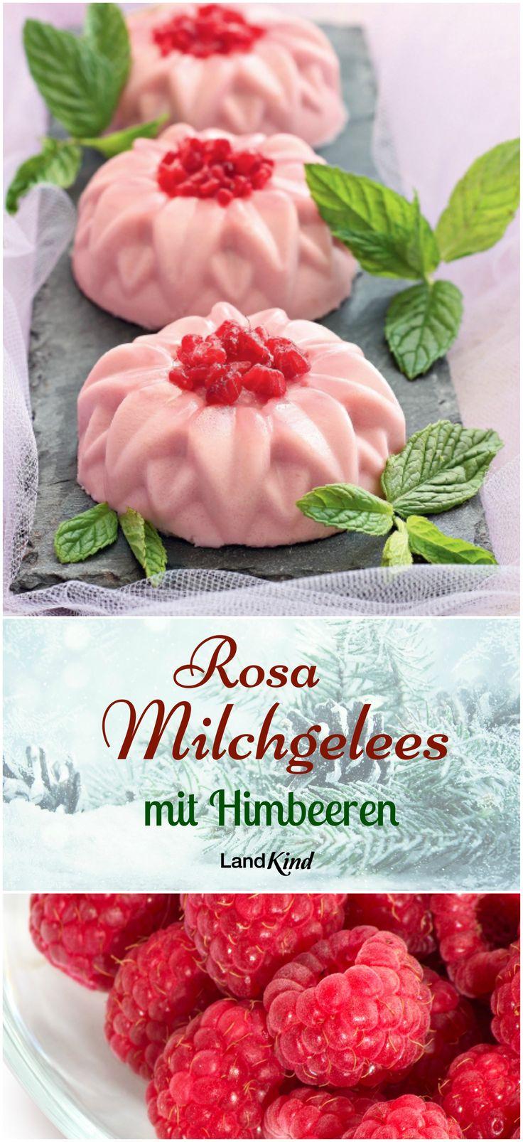 Die herzigen rosa Milchgelees werden mit 3/4 l Schlagsahne, 1/4 l Himbeersirup, 40-60 g Zucker, 1 Vanilleschote, 2 Pck. gemahlener Gelatine, 100 g TK-Himbeeren und etwas Zitronenmelisse zubereitet. Das ganze Rezept gibt's im Magazin!