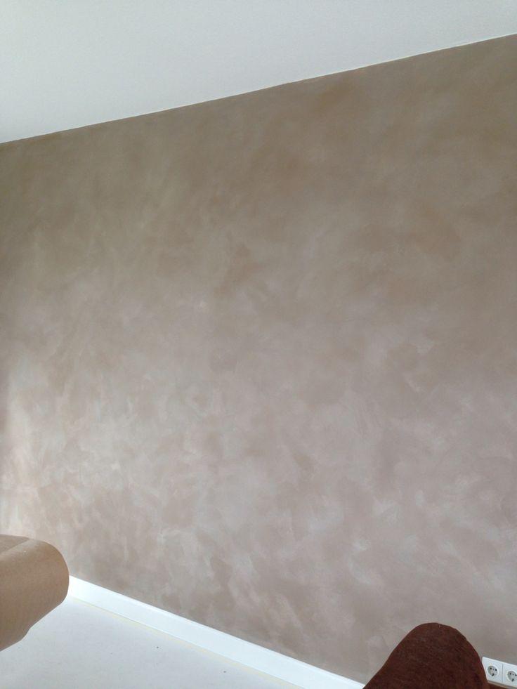 Muur in kalkverf Kleur Griz Nez